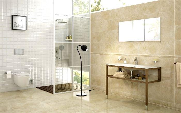 lüks banyo fayansları Çanakkale seramik yeni banyo fayansları - Marmoles Brillo Marfil - Çanakkale Seramik Yeni Banyo Fayansları