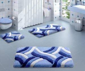 Dekoratif Banyo Paspas Modelleri