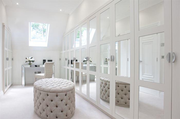 dekoratif-modern-giyim-odasi giysi dolapları ve giysi odası fikirleri