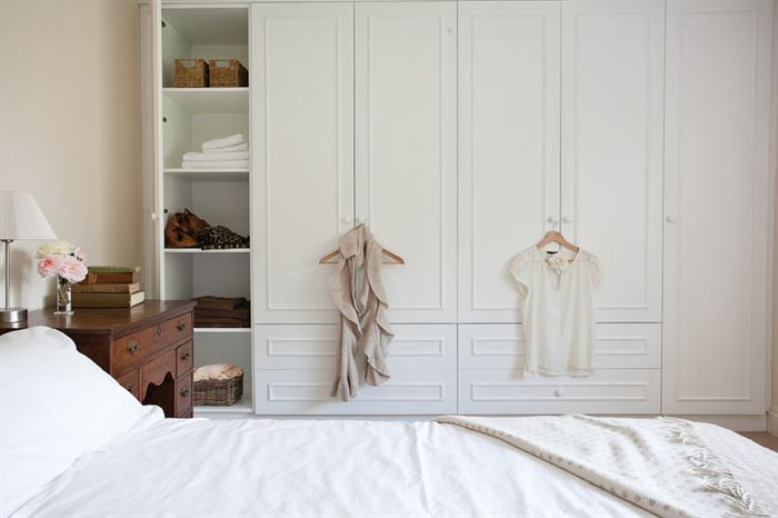 kapali-cekmeceli-giysi-dolabi giysi dolapları ve giysi odası fikirleri