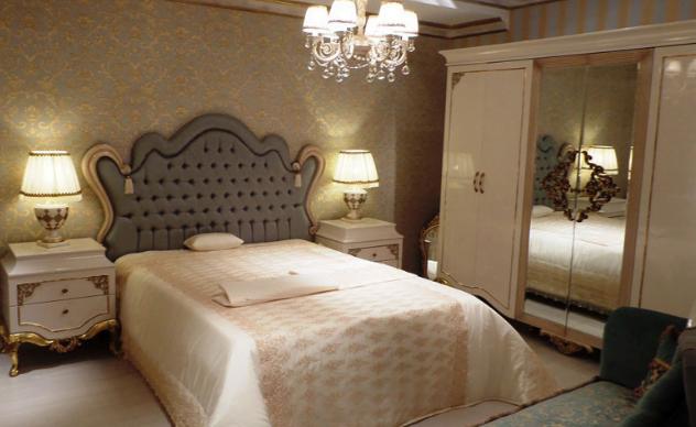 yatak odası duvarlarına dekoratif görünüm kazandırma - klasik yatak odasi renk secimleri - Yatak Odası Duvarlarına Dekoratif Görünüm Kazandırma
