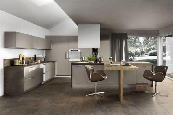 dekoratif büyük mutfak mobilyaları