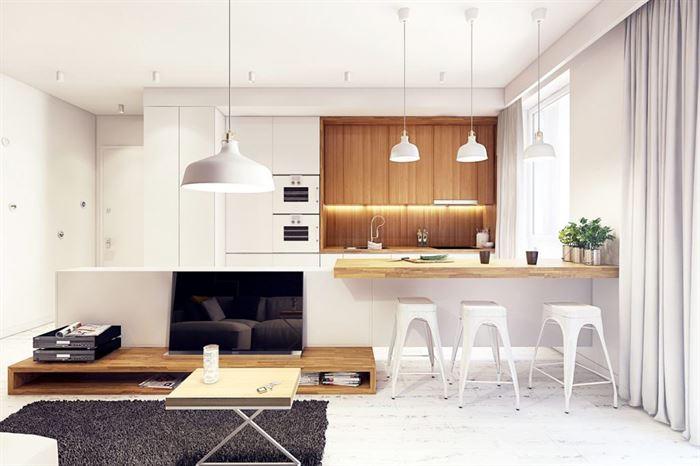 Büyük Mutfak Dekorasyon Fikirleri 4