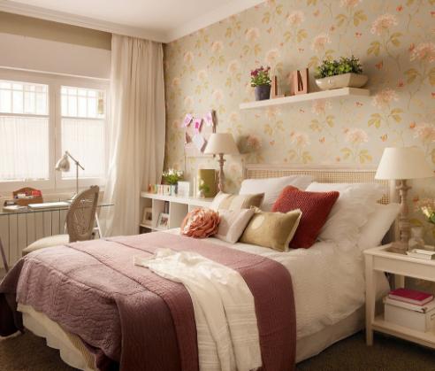 yatak odası duvarlarına dekoratif görünüm kazandırma - yatak odasi duvar kagit secimleri - Yatak Odası Duvarlarına Dekoratif Görünüm Kazandırma