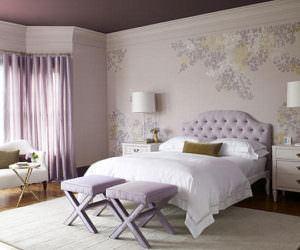 Yatak Odası Duvarlarına Dekoratif Görünüm Kazandırma
