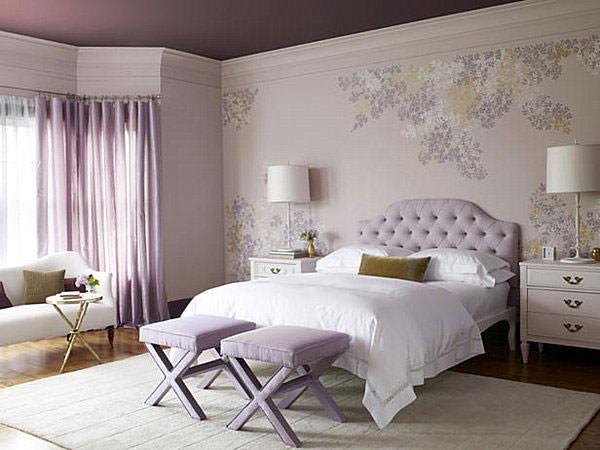 yatak odası duvarlarına dekoratif görünüm kazandırma - yatak odasi duvar renk ve kagitleri - Yatak Odası Duvarlarına Dekoratif Görünüm Kazandırma