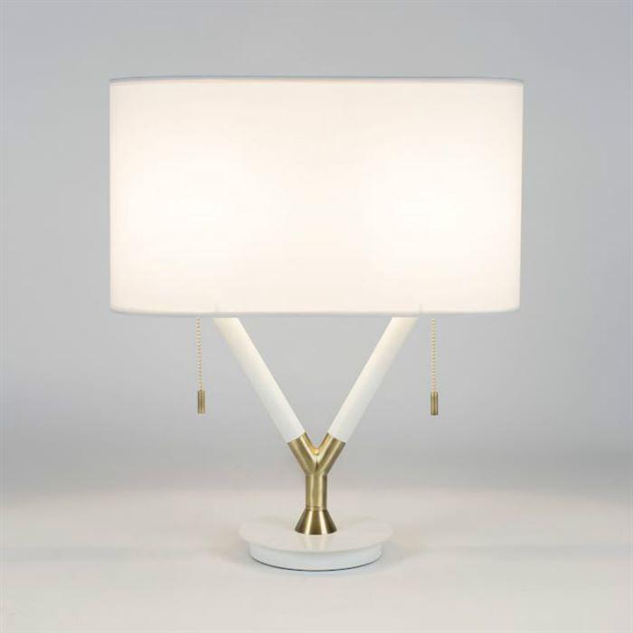 yatak odası abajur ve gece lambaları - Split Deco Table Lamp West - Yatak Odası Abajur Ve Gece Lambaları