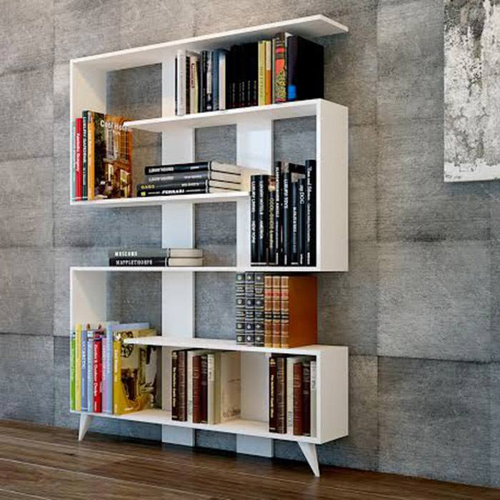 2017 Tasarım Modern Dekoratif Kitaplık Modelleri 1