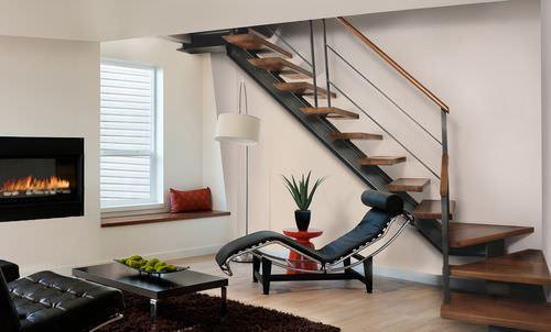 ahşap dubleks merdiven