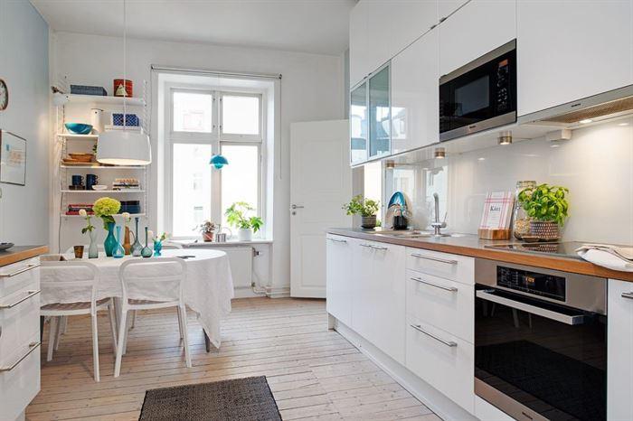iskandinav daire dekorasyonlari 12