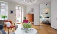 Renkli İskandinav Stili Daire'nin ilham Verici Ayrıntıları