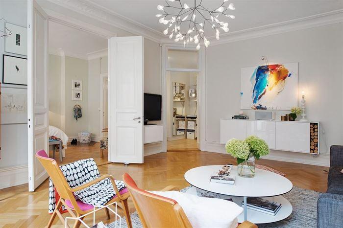iskandinav tarzı mobilya