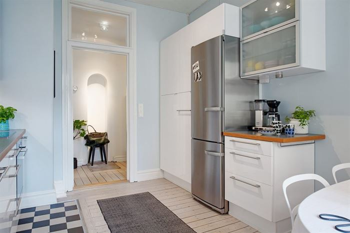 iskandinav stili mutfak