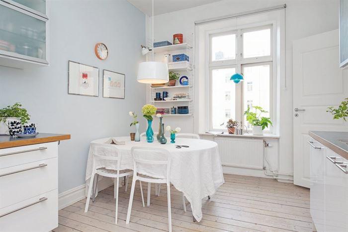 iskandinav dekorasyonlu evler