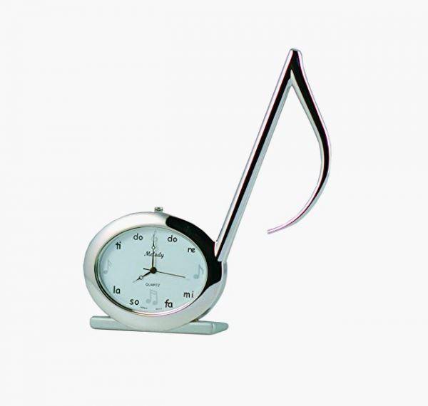 müzik temalı dekorasyon aksesuarları - masa saati - Müzik Temalı Dekorasyon Aksesuarları