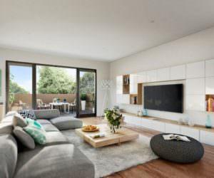 Modern Oturma Odası Dekorasyonu Ve Oturma Grupları
