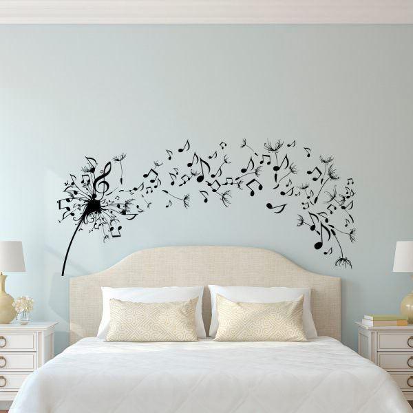 müzik temalı dekorasyon aksesuarları - muzik nota duvar cikarmasi - Müzik Temalı Dekorasyon Aksesuarları