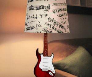 Müzik Temalı Dekorasyon Aksesuarları