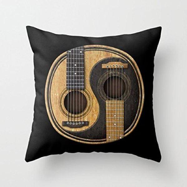 müzik temalı dekorasyon aksesuarları - muzik temali kirlent - Müzik Temalı Dekorasyon Aksesuarları