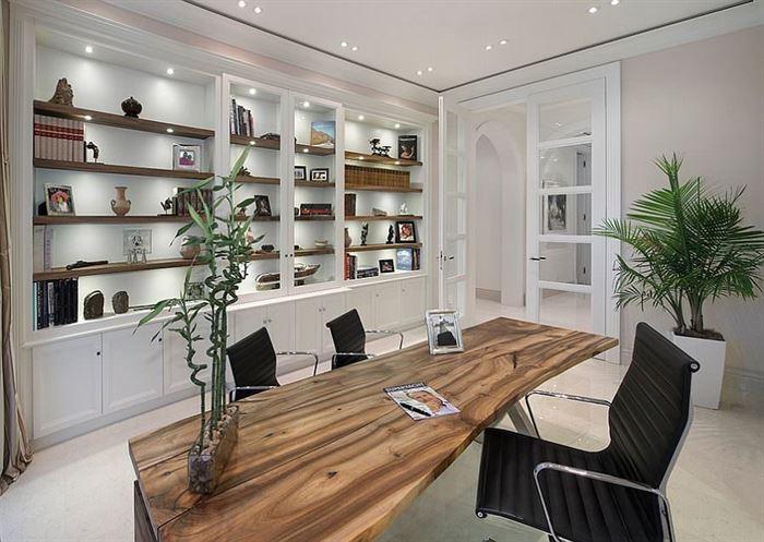 Evde Ofis Ve Çalışma Odası Dekorasyonu 9