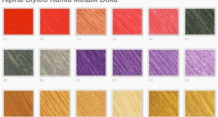 filli boya alpina renkleri