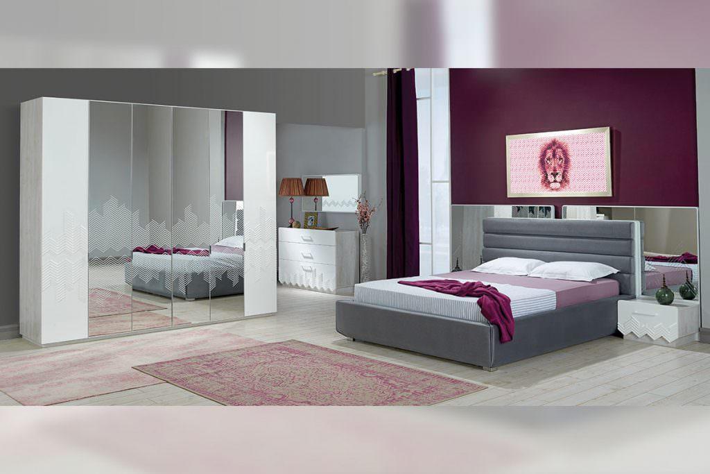 aldora mobilya yeni sezon yatak odası modelleri - stripe yatak odasi - Aldora Mobilya Yeni Sezon Yatak Odası Modelleri
