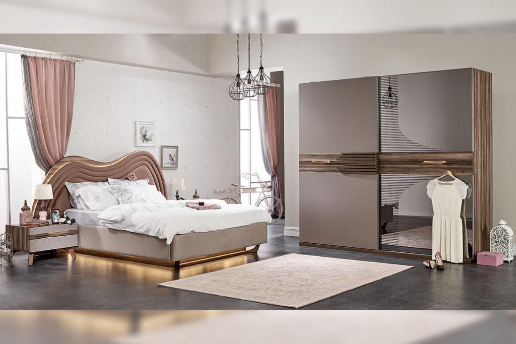 aldora mobilya yeni sezon yatak odası modelleri - wave yatak odasi - Aldora Mobilya Yeni Sezon Yatak Odası Modelleri