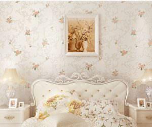 Yatak Odasında Duvar Kağıdı Tercihleri