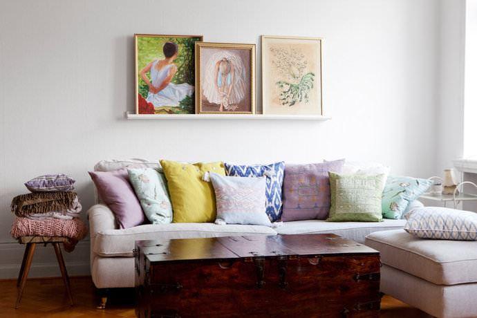 oturma odası duvar dekorları