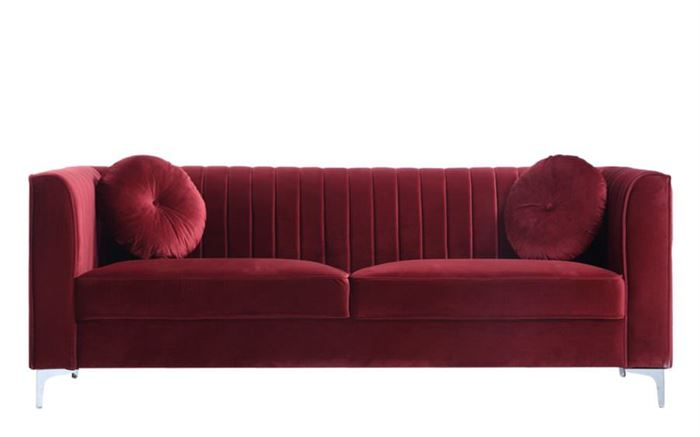 kırmızı kadife kumaş kadife kumaş kaplı Üçlü kanepe modelleri - kadife kumas kapli kanepeler 12 1 - Kadife Kumaş Kaplı Üçlü Kanepe Modelleri