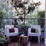 balkon sandalye küçük balkonlar İçin güzel dekorasyon fikirleri - kucuk balkon guzel dekorasyon fikirleri 10 150x150