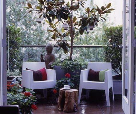 balkon sandalye küçük balkonlar İçin güzel dekorasyon fikirleri - kucuk balkon guzel dekorasyon fikirleri 10 474x400 - Küçük Balkonlar İçin Güzel Dekorasyon Fikirleri