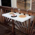 balkon pratik masa modeli küçük balkonlar İçin güzel dekorasyon fikirleri - kucuk balkon guzel dekorasyon fikirleri 11 150x150