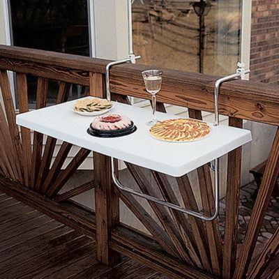 balkon pratik masa modeli küçük balkonlar İçin güzel dekorasyon fikirleri - kucuk balkon guzel dekorasyon fikirleri 11 400x400 - Küçük Balkonlar İçin Güzel Dekorasyon Fikirleri