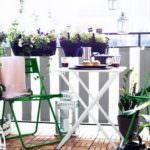 balkon küçük masa küçük balkonlar İçin güzel dekorasyon fikirleri - kucuk balkon guzel dekorasyon fikirleri 2 150x150