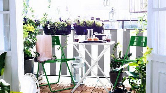 balkon küçük masa