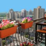 balkon çiçeklikleri küçük balkonlar İçin güzel dekorasyon fikirleri - kucuk balkon guzel dekorasyon fikirleri 22 150x150