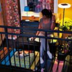 küçük balkon süsleme