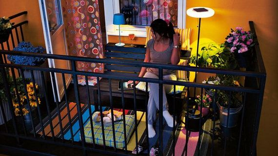 küçük balkon süsleme küçük balkonlar İçin güzel dekorasyon fikirleri - kucuk balkon guzel dekorasyon fikirleri 27 - Küçük Balkonlar İçin Güzel Dekorasyon Fikirleri