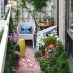 küçük balkon yeşillik küçük balkonlar İçin güzel dekorasyon fikirleri - kucuk balkon guzel dekorasyon fikirleri 29 150x150