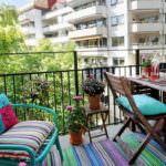 renkli balkon dekorasyon küçük balkonlar İçin güzel dekorasyon fikirleri - kucuk balkon guzel dekorasyon fikirleri 36 150x150
