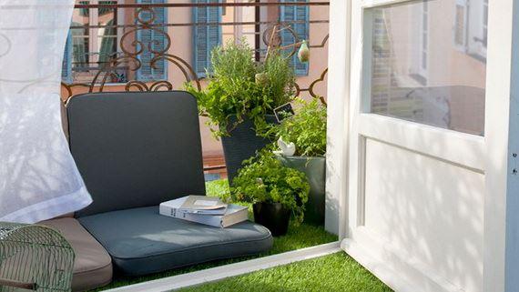 balkon yeşillik