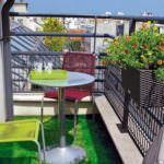 balkon masa sandalye küçük balkonlar İçin güzel dekorasyon fikirleri - kucuk balkon guzel dekorasyon fikirleri 6 150x150