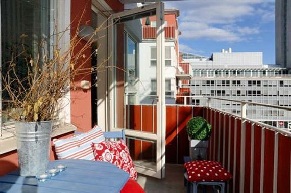 balkon süsleri küçük balkonlar İçin güzel dekorasyon fikirleri - kucuk balkon guzel dekorasyon fikirleri 7 - Küçük Balkonlar İçin Güzel Dekorasyon Fikirleri