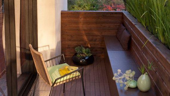 küçük balkon güzel dekorasyon fikirleri