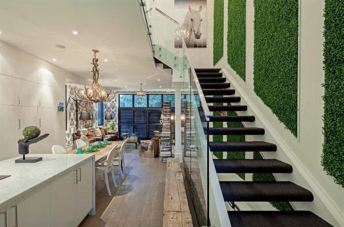 Duvarlar İçin Dikey Yeşillik Peysajı duvarlar İçin dikey yeşillik peysajı - merdivan duvar bitki dekoru - Duvarlar İçin Dikey Yeşillik Peysajı