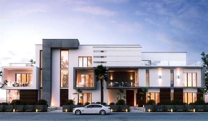 luks-villa-tasarimi modern lüks evlerin dış mimari tasarımları