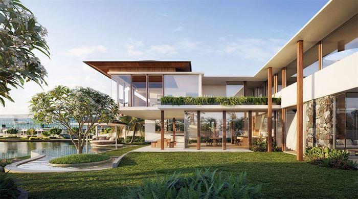 modern lüks evlerin dış mimari tasarımları