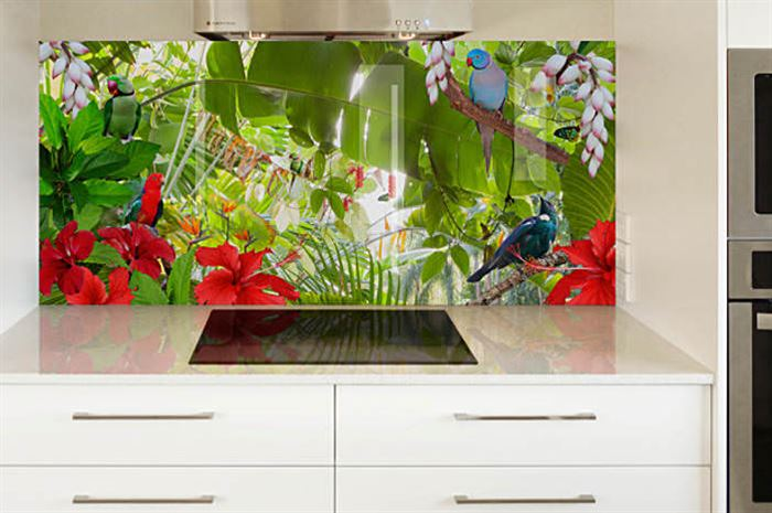 mutfak tropikal mutfak duvar kağıt modelleri