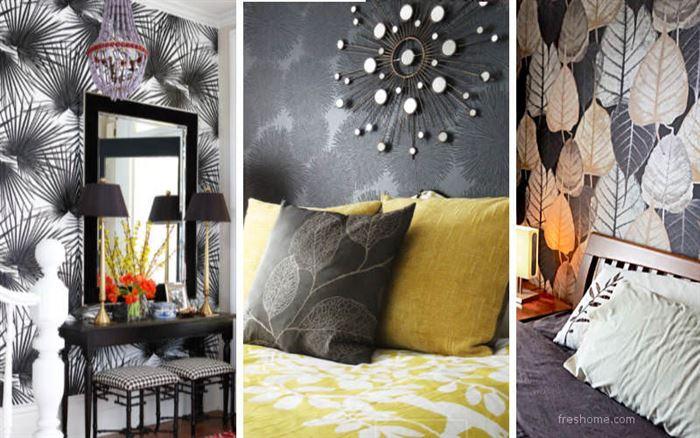 desenli duvar kağıt tasarımları